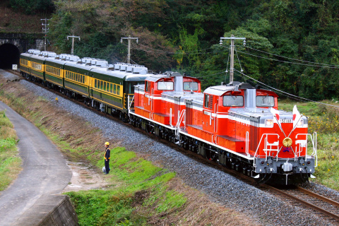 【JR西】お召し列車運転