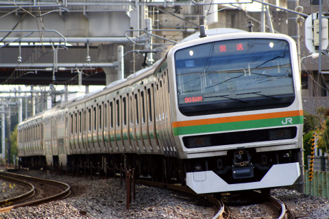 【JR東】E231系ヤマU510編成 東京総合車両センター出場
