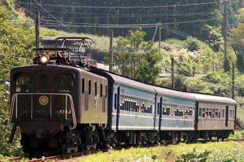 【大鐡】「電気機関車牽引列車」 運転