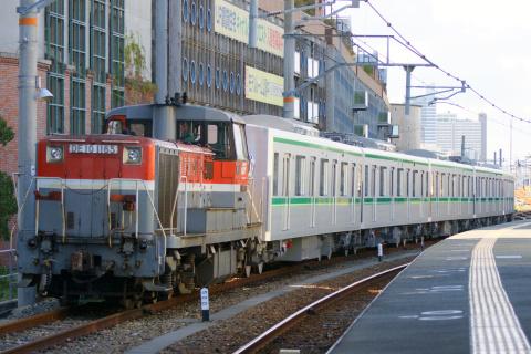 【メトロ】東京メトロ16000系16112F 甲種輸送