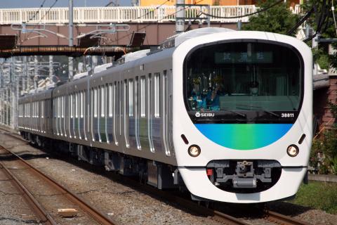 【西武】30000系38111F 試運転