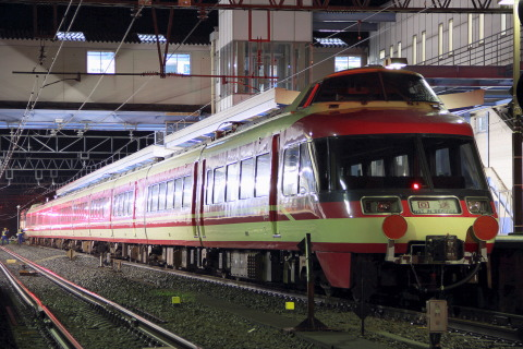 【小田急】7000形7003F(LSE) 日本車両入場甲種