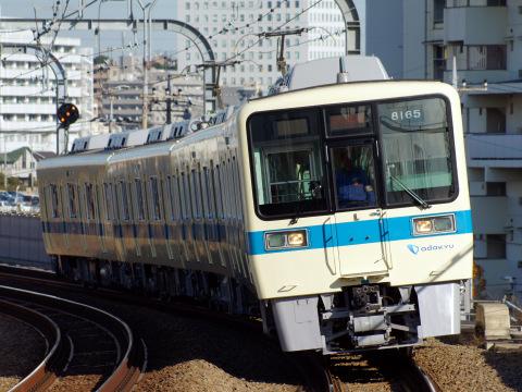 【小田急】8000形8065F 試運転