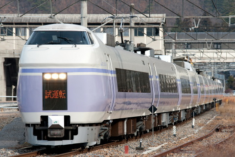 【JR東】E351系S4+S24編成 長野総合車両センター出場