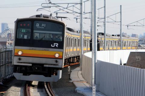 【JR東】南武線矢野口~府中本町間 下り線高架化