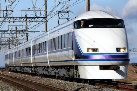 【東武】100系105F(リニューアル編成) 出場試運転