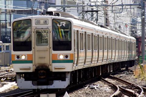 【JR東】211系チタN54編成 大宮総合車両センター入場
