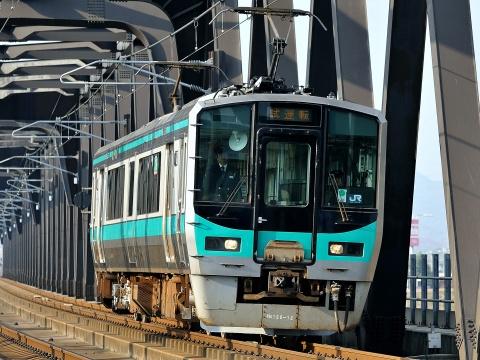 【JR西】125系ホシN4編成 網干総合車両所出場