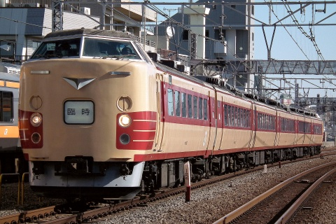【JR東】183系オオOM103編成使用 特急「あずさ77号」運転