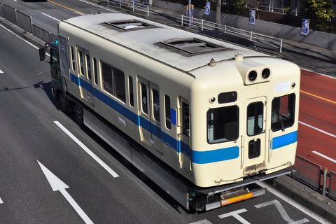 【小田急】5200形5268F(新宿側2両)搬出