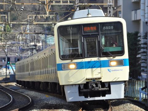 【小田急】8000形8259F+8057F使用 団体臨時列車運転