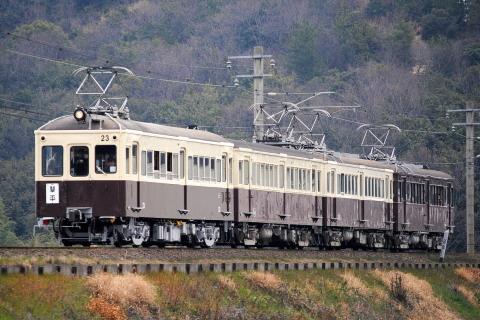 【琴電】23号全検出場記念 レトロ電車特別運行