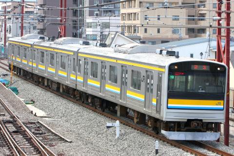 【JR東】205系ナハ19編成 大宮総合車両センター入場