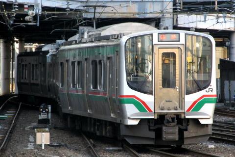 【JR東】東北本線仙台~一ノ関間で臨時快速運転