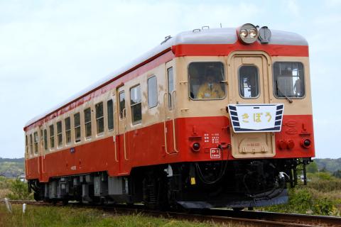 【いすみ】キハ52-125使用 臨時急行列車運転開始
