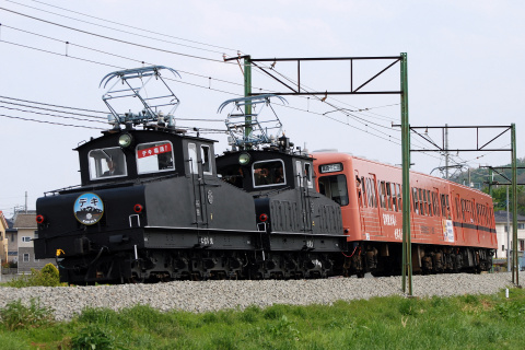 【上信】デキ運行再開記念列車 運転