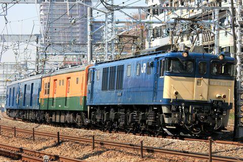 2nd-train Topics 【JR東】クモヤ143系3両 廃車配給