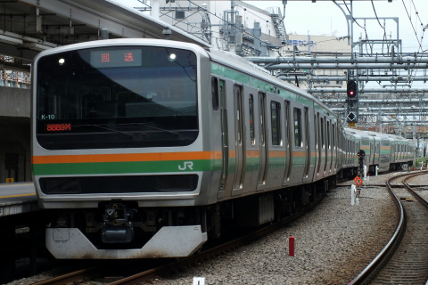 【JR東】E231系コツK10編成 東京総合車両センター出場