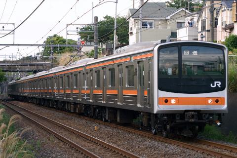 【JR東】205系ケヨM65編成 大宮総合車両センター出場