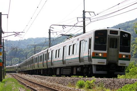【JR東】211系タカC12編成 試運転