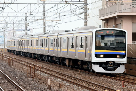 【JR東】209系2100番代マリC609編成 東京総合車両センター出場