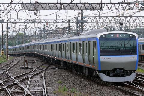 【相鉄】11000系11004F 営業運転開始