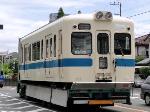 【小田急】5000形5256F(小田原側2両)搬出