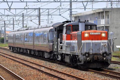 【小田急】30000形30057F(EXE) 日本車両出場甲種