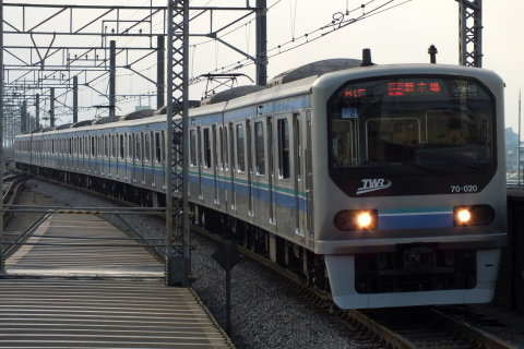 【東臨】70-000形Z02編成 VVVFインバータ更新