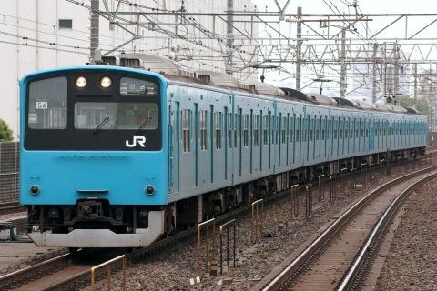 【JR東】201系ケヨK4+54編成 廃車回送