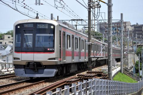【東急】5050系5174F 長津田検車区へ回送