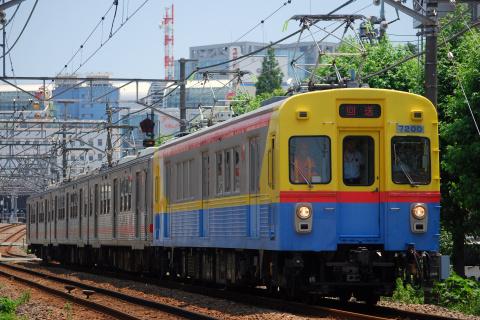 【東急】7700系7913F 廃車回送