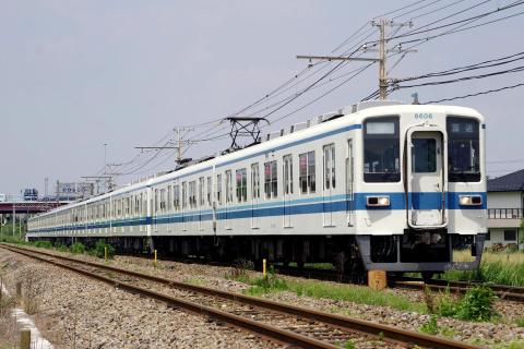 【東武】8000系8181F 南栗橋車両管区出場