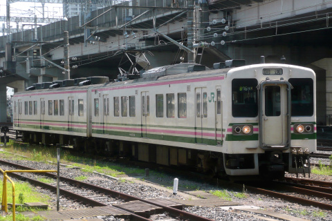 【JR東】107系タカR18編成 大宮総合車両センター入場