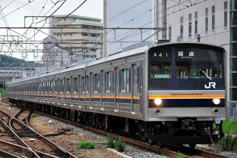 【JR西】205系ミハC3編成 本線試運転