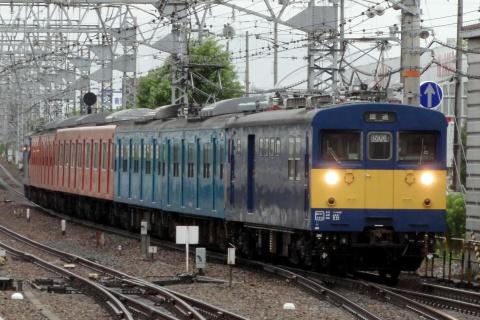 【JR西】103系6両 廃車回送