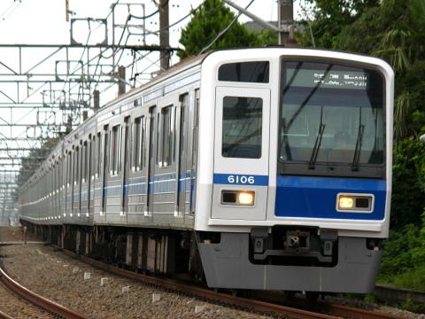【西武】6000系6106F 試運転