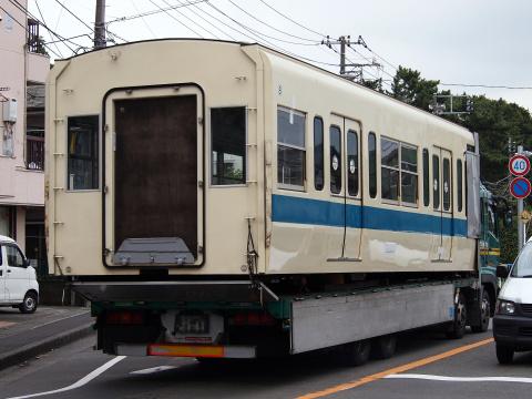 【小田急】5000形5064F小田原方2両 搬出