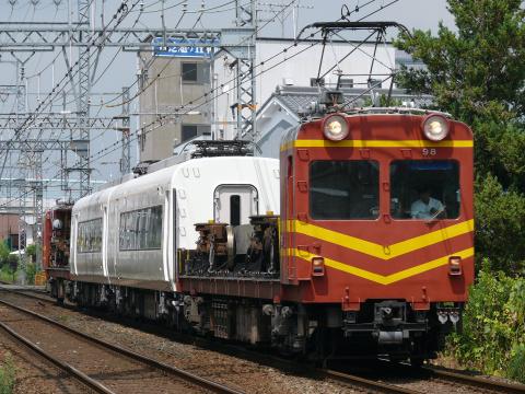 【近鉄】26000系26102F『さくらライナー』2両 五位堂検修車庫入場