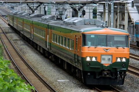 【JR東】185系オオOM03編成 東京総合車両センターへ回送