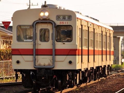 【関鉄】キハ350形最後の定期指定運用
