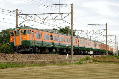 【JR東】115系タカT1143編成 大宮総合車両センター出場