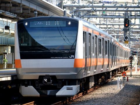 【JR東】E233系トタ青459編成 東京総合車両センター出場