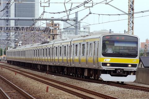 【JR東】E231系ミツB8編成 東京総合車両センター入場