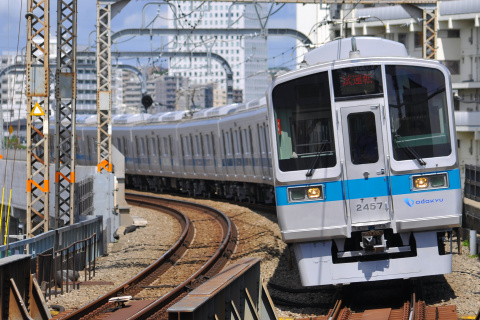 【小田急】2000形2054F 出場試運転