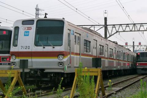 【メトロ】7000系7120F 元住吉検車区へ回送