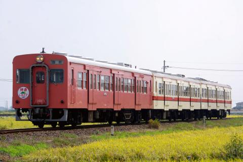 【関鉄】キハ350形・キハ100形使用 団体臨時列車運転