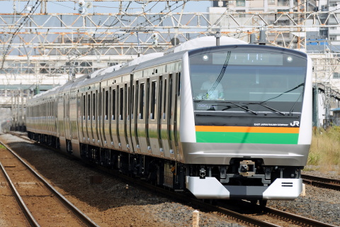 【JR東】E233系3000番代チタNT1編成 試運転