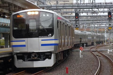【JR東】E217系クラY6編成 東京総合車両センター出場