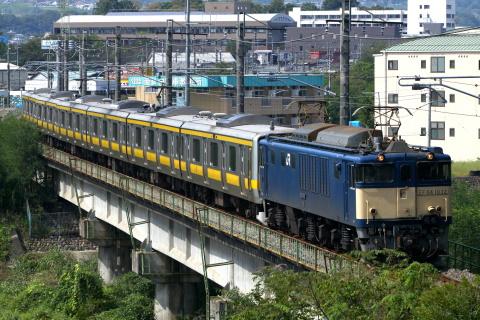 【JR東】E231系元ミツ27編成 返却配給